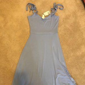 NWT Baby Blue Midi Dress